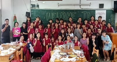 Providence University international College x Taichung Second Senior High School Taiwan & Foreign Student